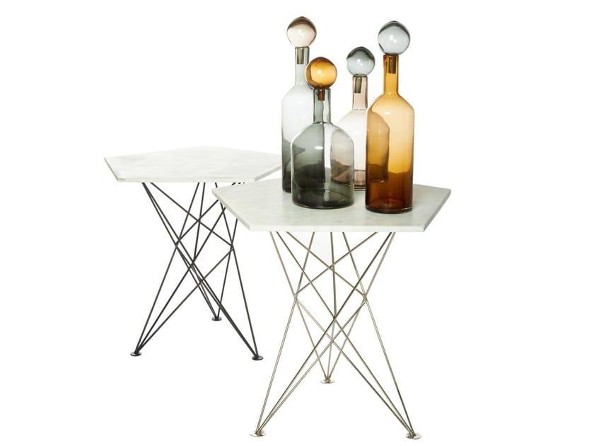 Tavolo in marmo PENTAGON - Pols Potten