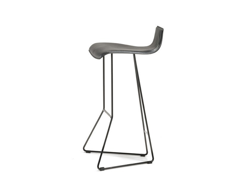 Sled base barstool PEPE by Cattelan Italia