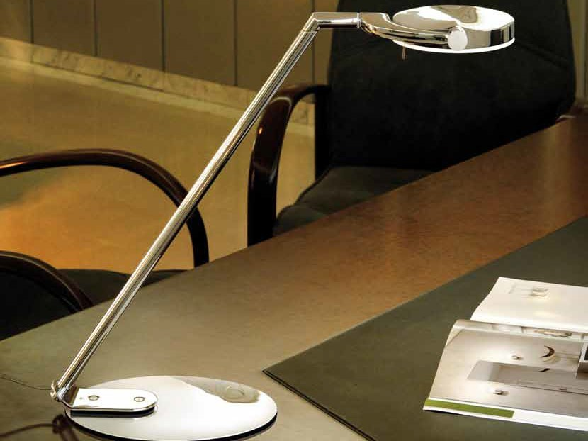 LED with swing arm desk lamp PERCEVAL LED 6348 - Milan Iluminación