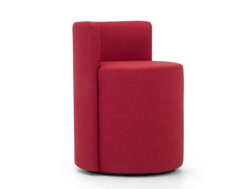 Upholstered fabric easy chair PERCY | Fabric easy chair - Domingo Salotti