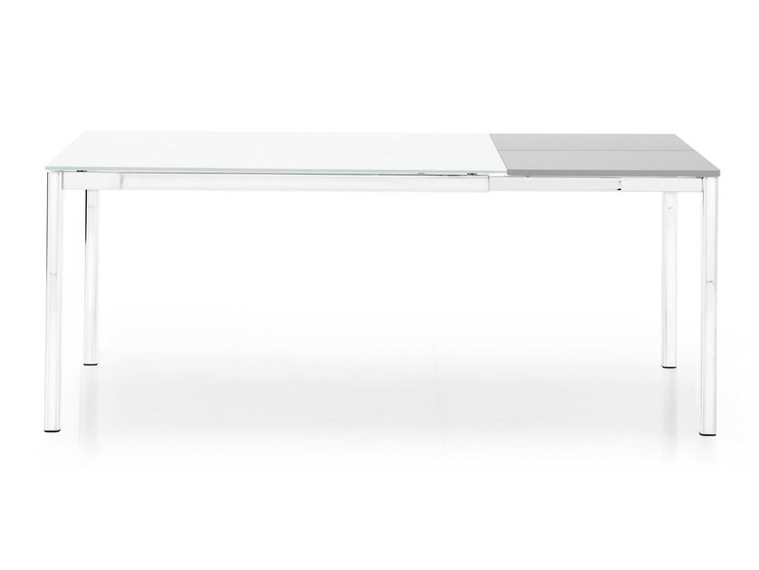 Extending metal dining table PERFORMANCE - Calligaris