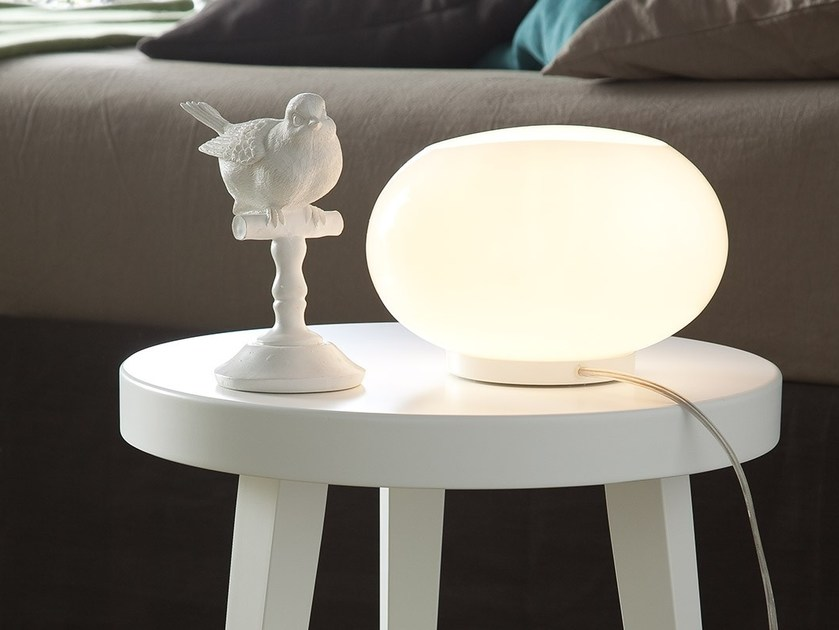 Indirect light bedside lamp PERLA by Chaarme