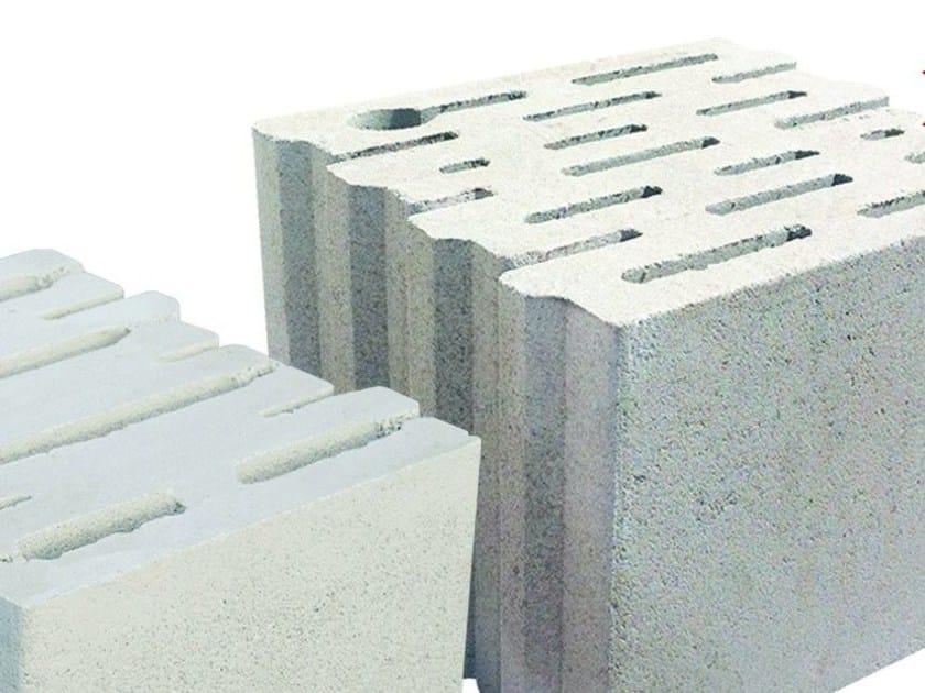 External masonry block in concrete PERLITECH™ TERMOACUSTICO - M.v.b.