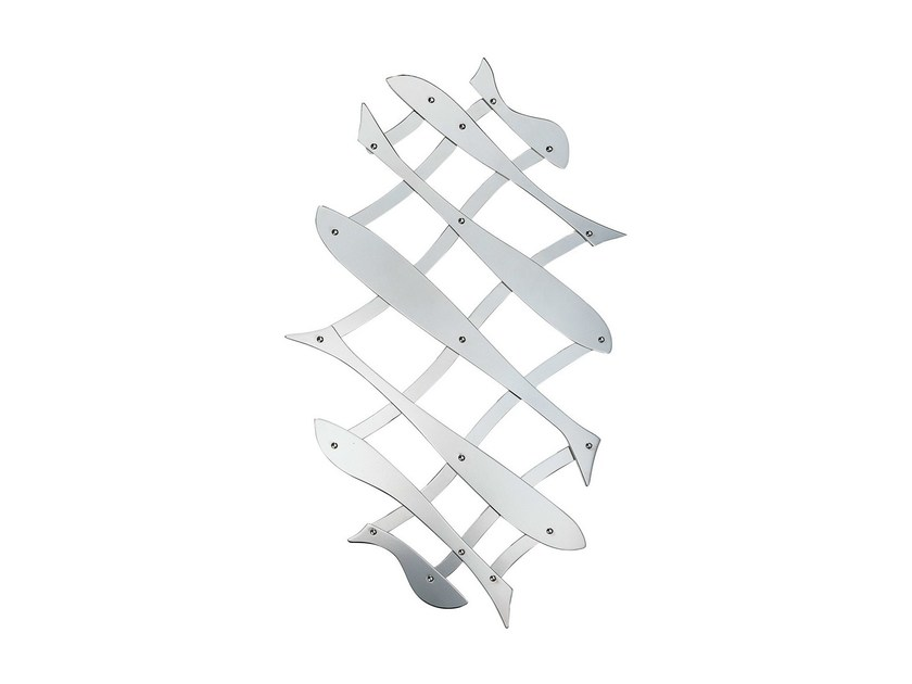 Stainless steel trivet PESCHER by ALESSI