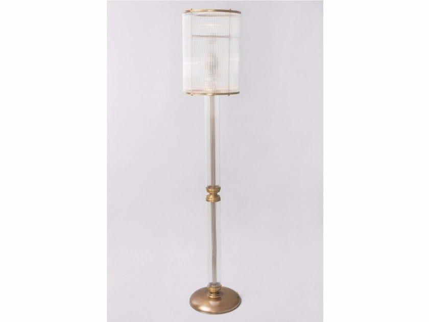 Direct light handmade brass floor lamp PETITOT I | Floor lamp - Patinas Lighting