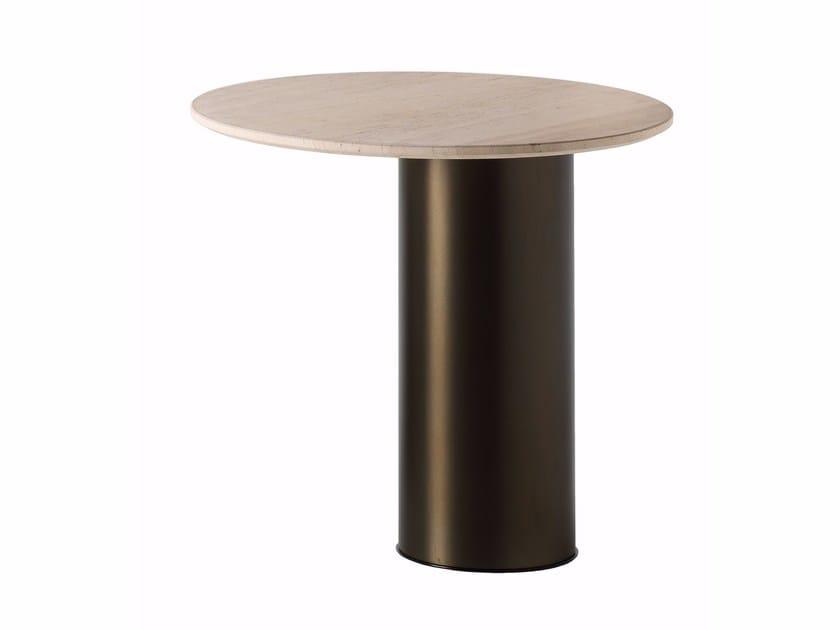 Tavolino rotondo in pietra PETRA | Tavolino rotondo - Arketipo