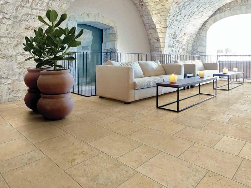 Pavimento in gres porcellanato effetto pietra petra solis for Pavimento gres effetto pietra