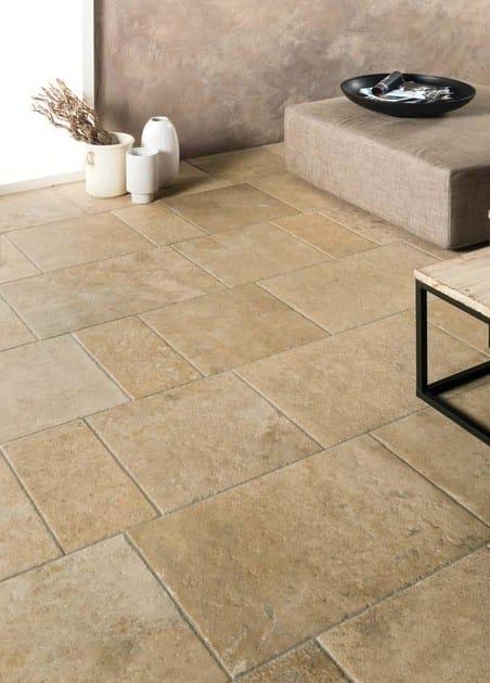 Pavimento in gres porcellanato effetto pietra petra solis for Pavimento effetto pietra