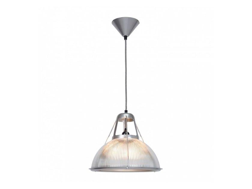 Lampada a sospensione a luce diretta in vetro PHANE PRISMATIC - Original BTC