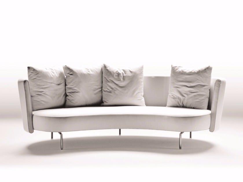 3 seater fabric sofa PHIL - FLEXFORM