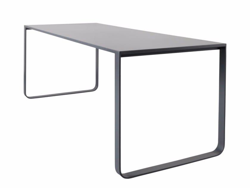 Rectangular steel table PHILEAS - AZEA