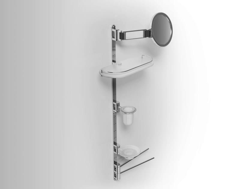 Towel rack/Soap dish/Toothbrush holder/ Bathroom Wall Shelf PHLOX | Towel rack - Alna