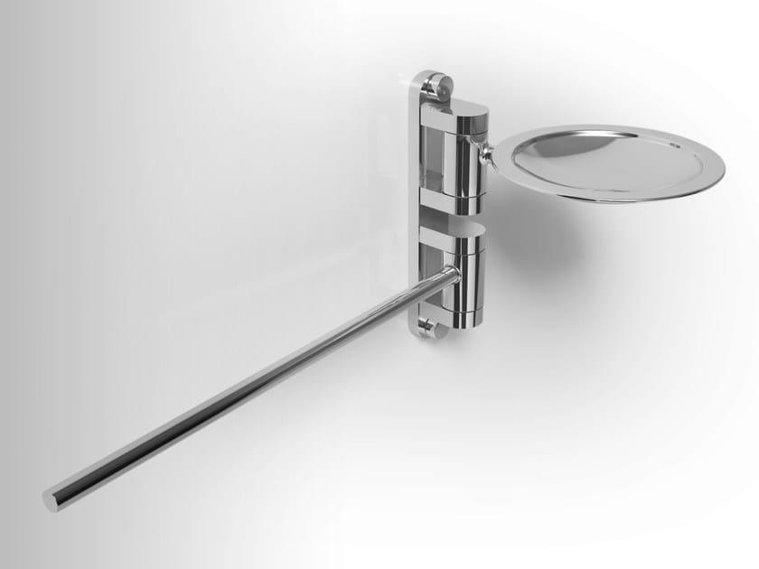 Metal soap dish / towel rack PHLOX | Towel rack - Alna