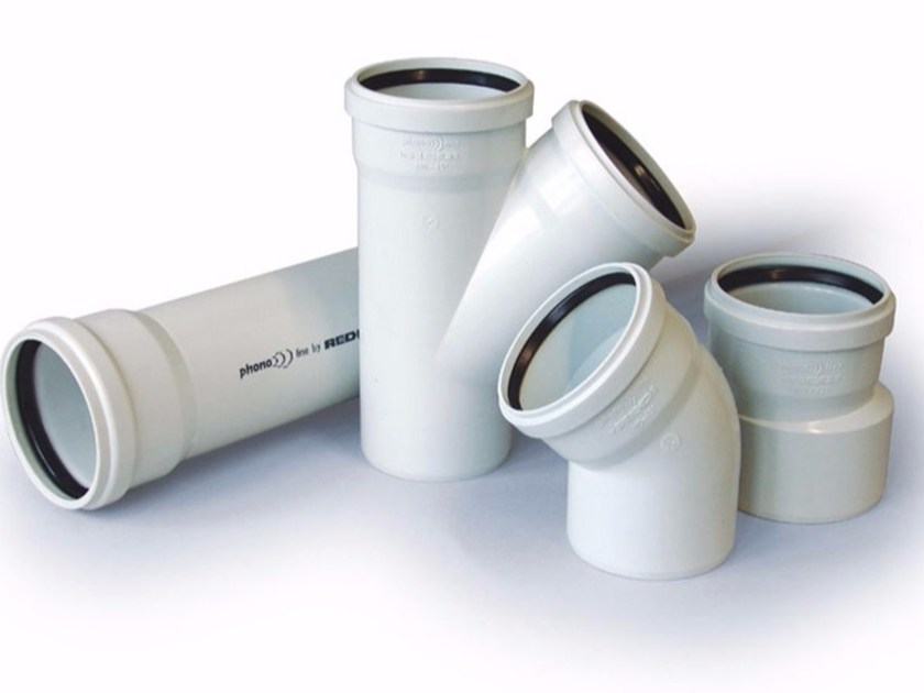 Sound-absorbing drainage pipe PHONOLINE by Nicoll by REDI