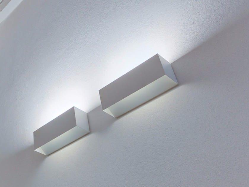 LED metal wall lamp PIÙ - DAVIDE GROPPI