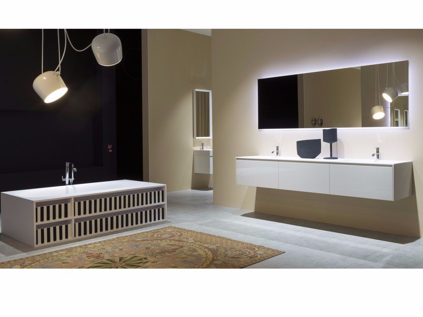 Bathroom furniture set PIANA - Antonio Lupi Design®