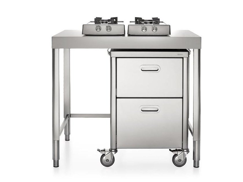 Piano cottura da appoggio in acciaio inox classe a piani - Piano cucina acciaio inox ...