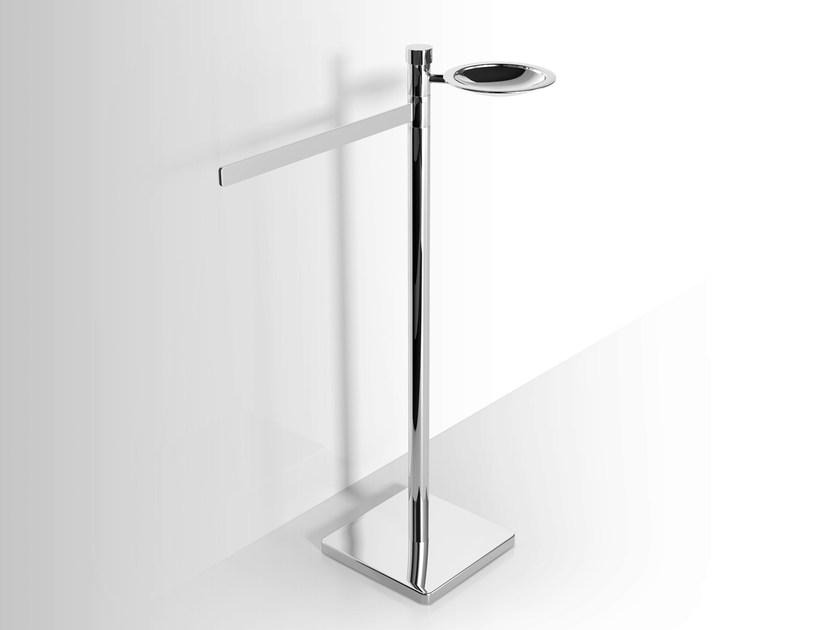 Metal soap dish / towel rack Towel rack by Alna