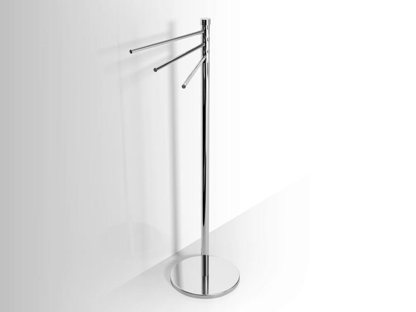 Standing metal towel rack Swivel towel rack - Alna