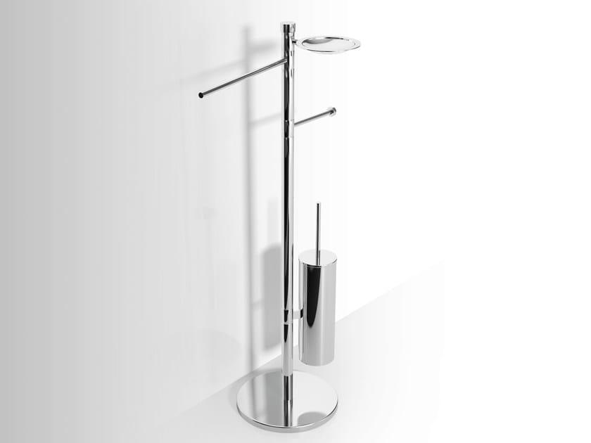 Standing metal toilet brush Standing towel rack - Alna