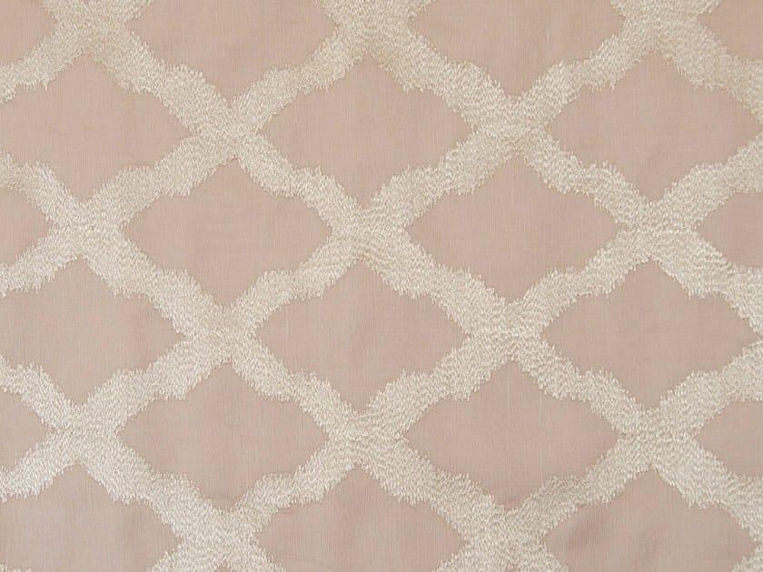 Iridescent fabric with graphic pattern PIAZZA - Aldeco, Interior Fabrics