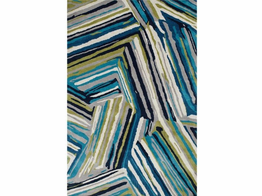 Patterned rug PICK-UP-STICKS - Jaipur Rugs