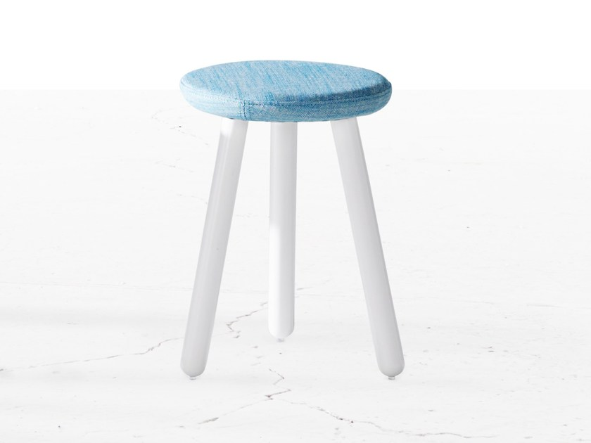 Fabric stool PICKET | Fabric stool - Derlot Editions