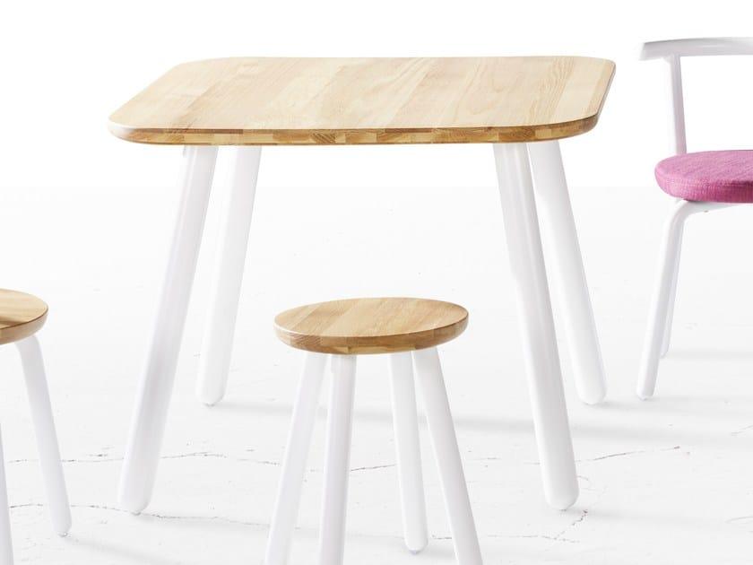 Tavolo rettangolare in legno PICKET | Tavolo rettangolare - Derlot Editions