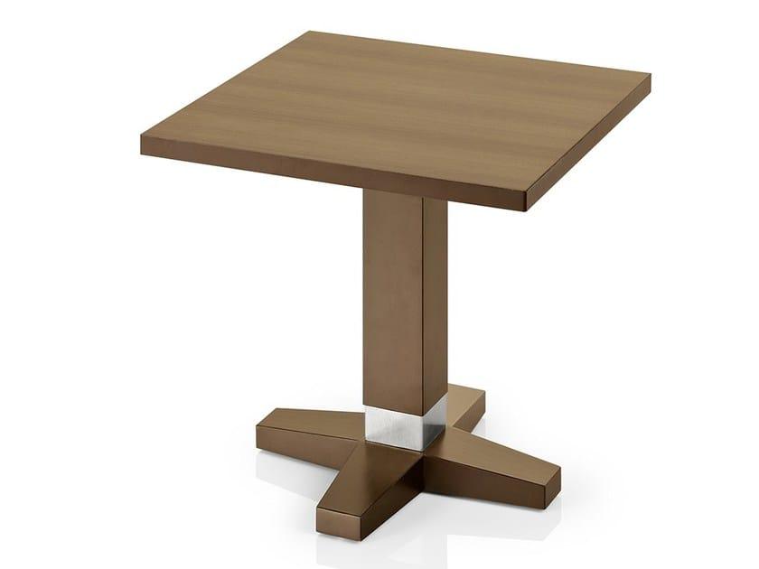 Square wooden coffee table PICO | Coffee table - J. MOREIRA DA SILVA & FILHOS, SA