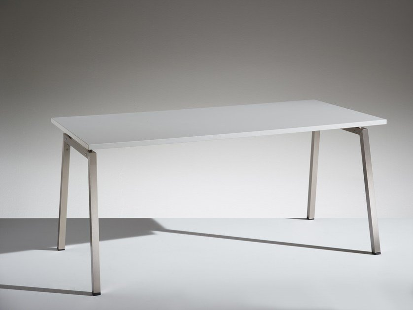 Modular rectangular meeting table PIKAPPA - LAMM