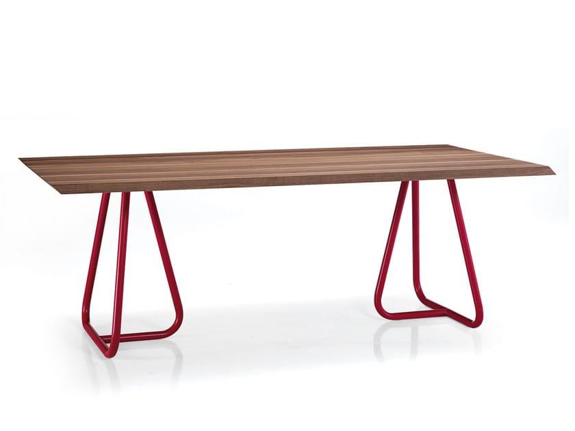 Rectangular custom table PILAR - Oliver B.