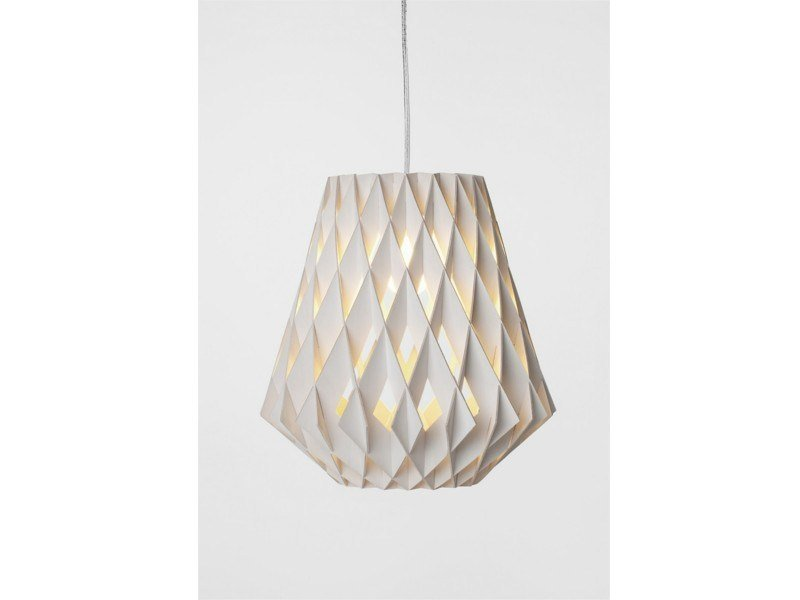 Plywood pendant lamp PILKE 28 | Plywood pendant lamp by SHOWROOM Finland