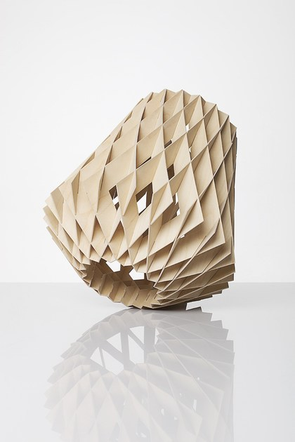 Plywood table lamp PILKE 28 | Plywood table lamp - SHOWROOM Finland