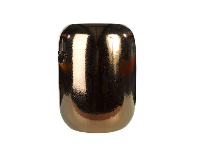 Sgabello / tavolino in ceramica PILL COPPER - Pols Potten