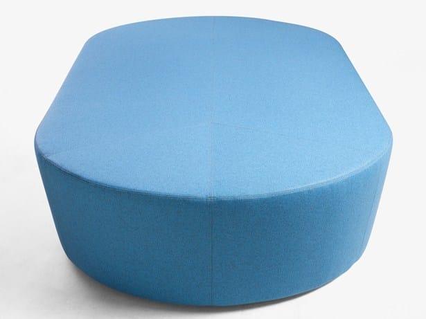 Fabric pouf PILL | Fabric pouf - Derlot Editions