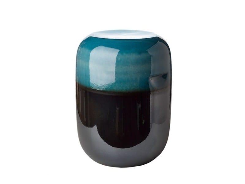 Sgabello / tavolino in ceramica PILL GRADIENT - Pols Potten