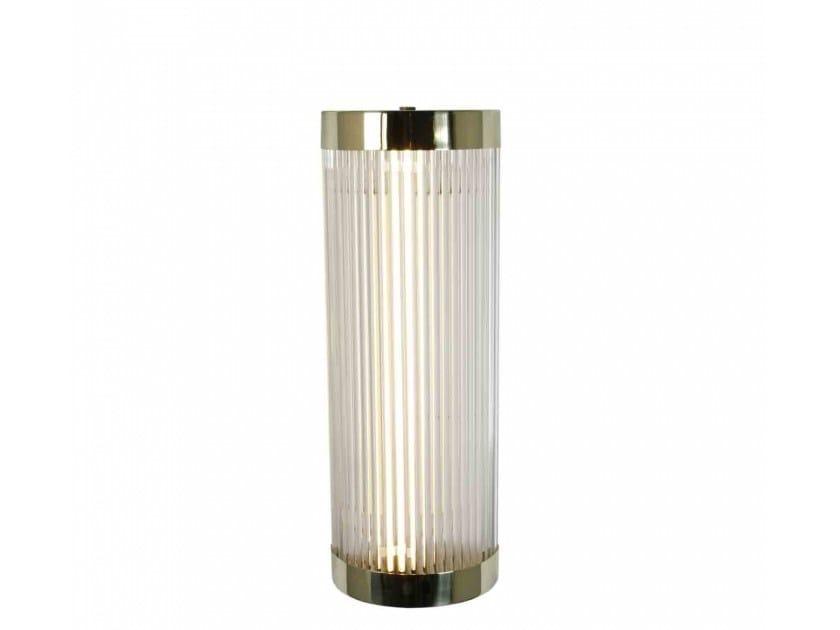 Fluorescent brass wall light for bathroom PILLAR   Wall light - Original BTC