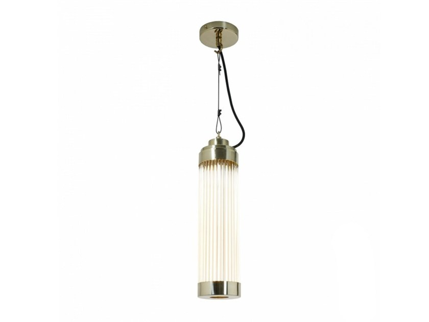 LED brass pendant lamp with dimmer PILLAR | Pendant lamp - Original BTC