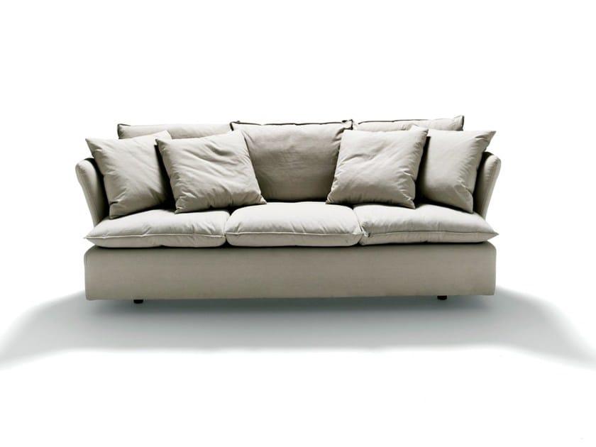 Divano sfoderabile in tessuto pillow de padova for De padova divani