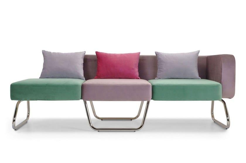 Polyurethane sofa PILLS | Sofa by Adrenalina