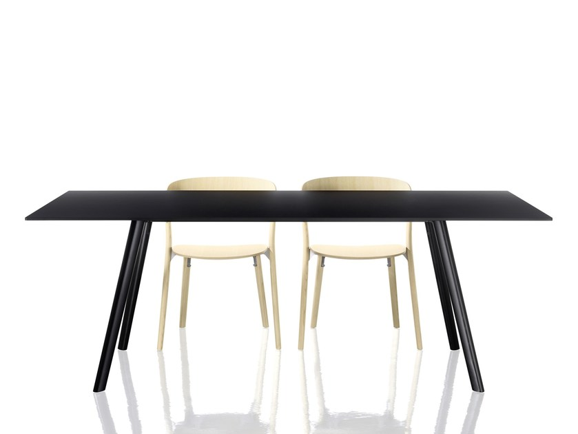 Rectangular table PILO by Magis