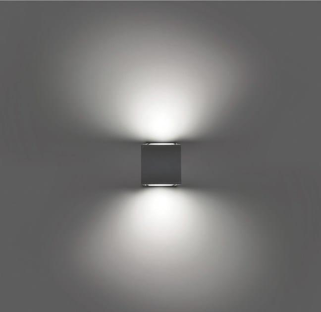 LED direct-indirect light wall lamp PIN F.6829 - Francesconi & C.