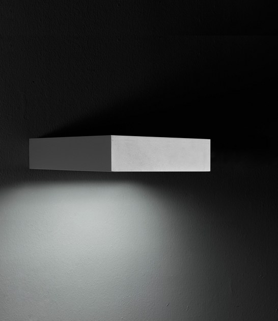 LED extruded aluminium wall lamp PIN F.8215 - Francesconi & C.