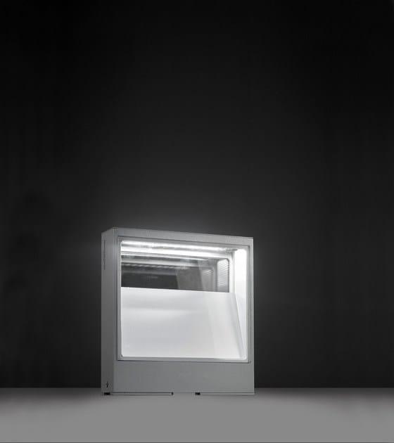 Contemporary style LED aluminium bollard light PIN F.8220 - Francesconi & C.