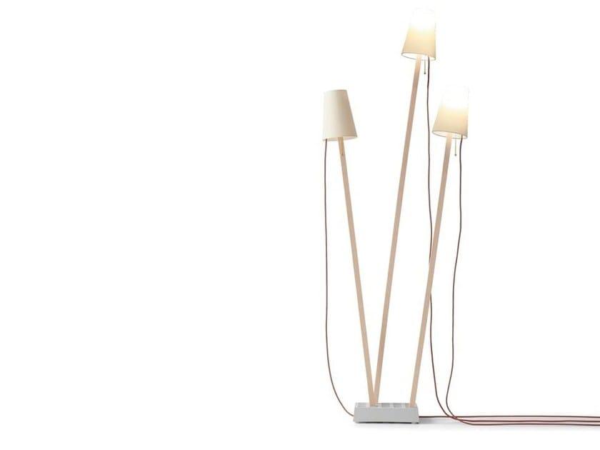 LED floor lamp PIN LIGHT by Nils Holger Moormann