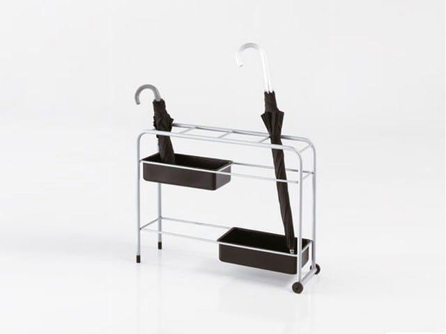 Steel umbrella stand PIOGGIA - Caimi Brevetti