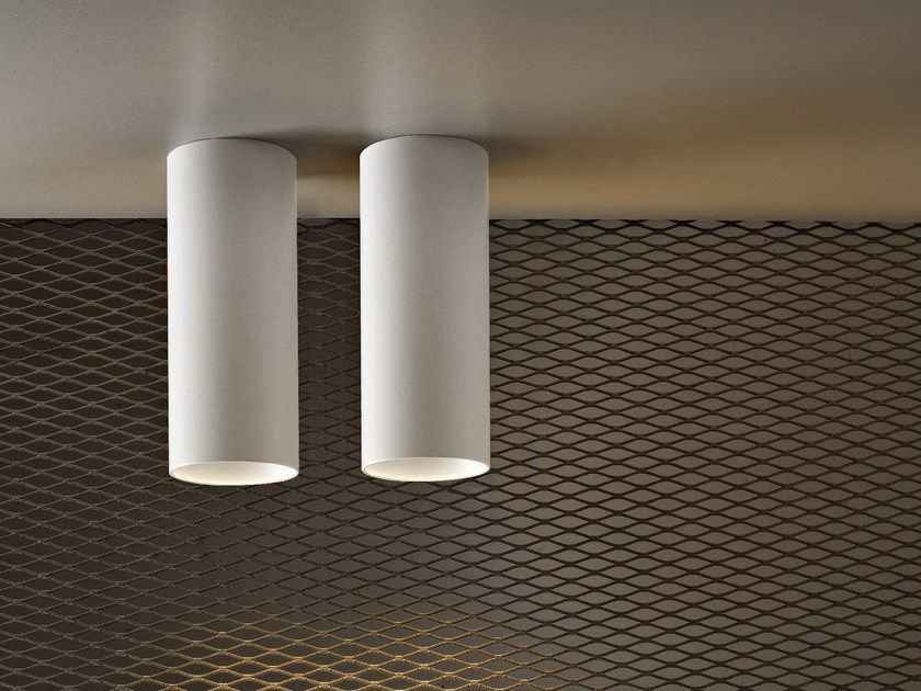 LED metal ceiling lamp PIPE | Ceiling lamp - Olev by CLM Illuminazione