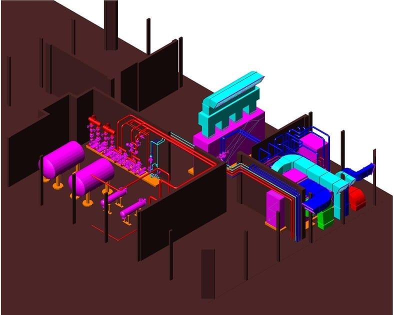 Disegno costruttivo di centrali termiche piping ath for Software per disegno 3d