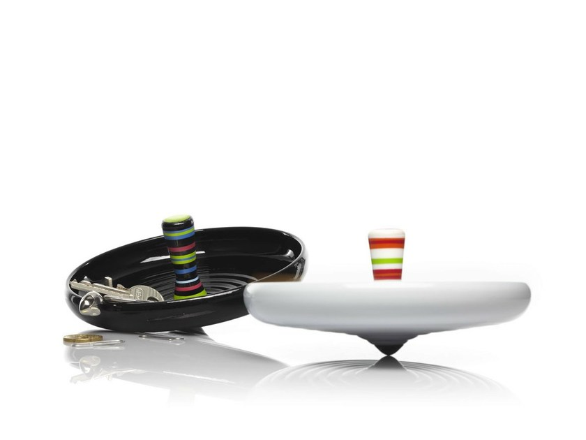 Synthetic material pin tray PIROUETTE - ALESSI