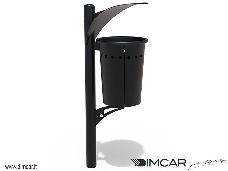 In-ground waste bin with lid PIRRO | Waste bin with lid - DIMCAR